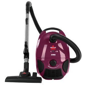 BISSELL Zing Bagged Canister Vacuum 4122 – Best Cheap Canister Vacuum Under $100