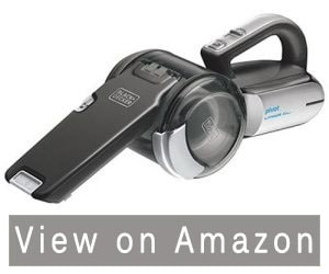 Black & Decker 20V MAX Lithium Pivot Vac – The Easiest to Clean Handheld Vacuum Cleaner