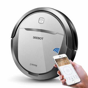 ECOVACS DEEBOT M80 Pro - Best Robotic Vacuum Cleaner for Picking up Pet Hair