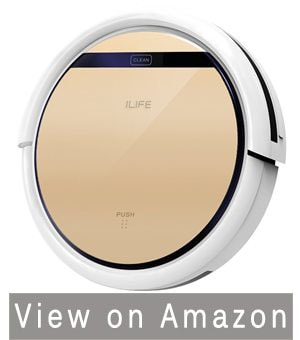 ILIFE V5s Robot Vacuum Cleaner with Water Tank – The Best Robot Vacuum Cleaner for Hardwood Floors