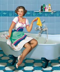 Bathroom cleaning tips and hacks