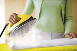 how to use a steam iron