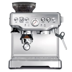 Breville BES870XL Barista Express – Best Espresso Machine with Grinder