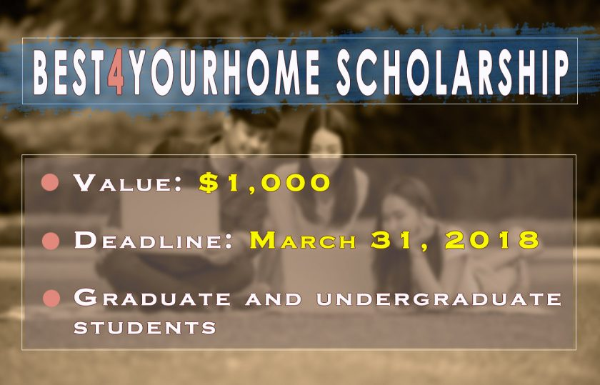 best4yourhome scholarship