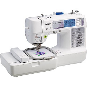 Brother SE400 - Best affordable embroidery and sewing machine