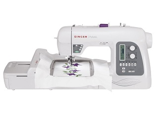 SINGER Futura XL-550 -Multihoopingembroidery machine with the largest number of built-in sewing stitches