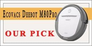 Ecovacs Deebot M80 pro - best robot vacuum