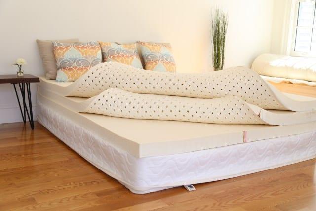 Types of mattresses: Latex mattress