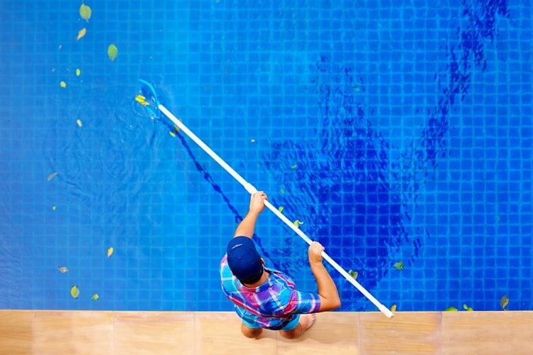 How to care of a swimming pool
