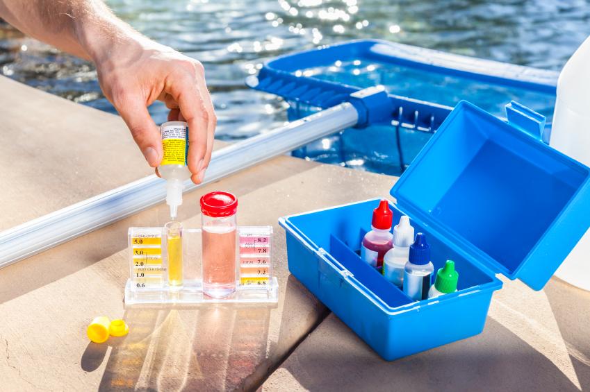 Pool testing kits