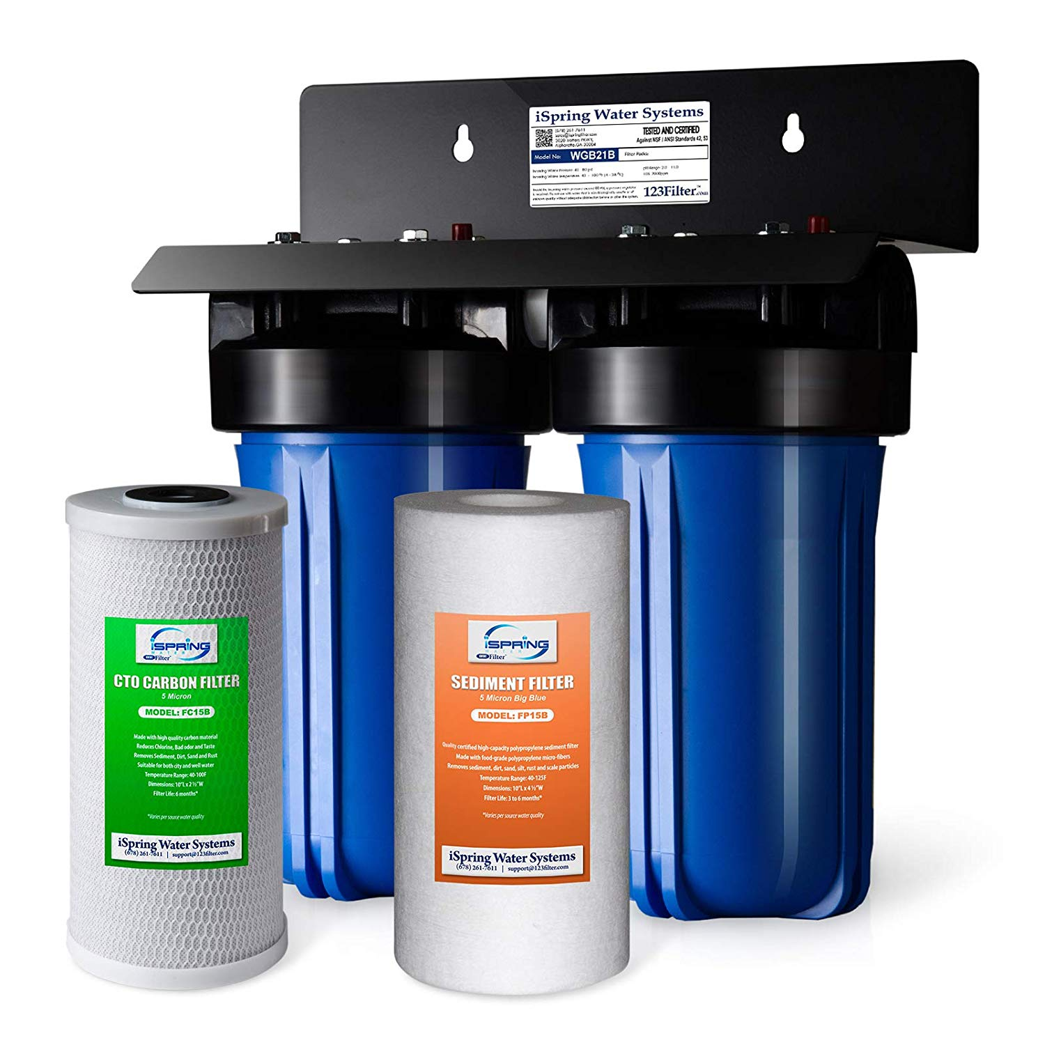 top whole house water filtration system