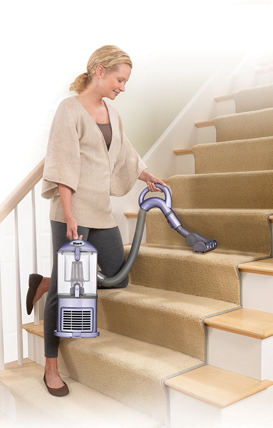 Shark Navigator Upright Vacuum for Carpet and Hard Floor with Anti-Allergy