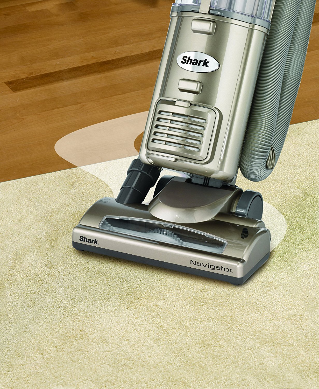 Shark Navigator Deluxe Upright Corded Bagless Vacuum with Anti-Allergy