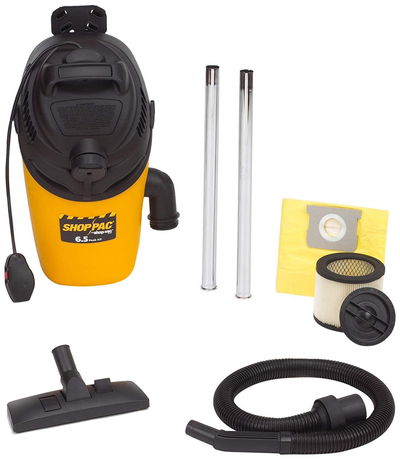 shop vacs for dust collection