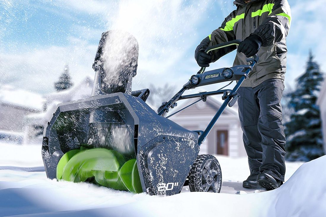 top snow blower